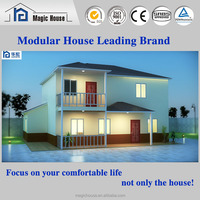alibaba or very cheap economical modern light steel framing prefab house