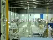 advanced gypsum ceiling board production line
