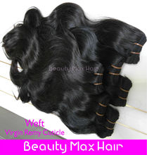 100% Sensational,Body wave,Natural Black,100%Cambodian Virgin Remy Hair Weaving