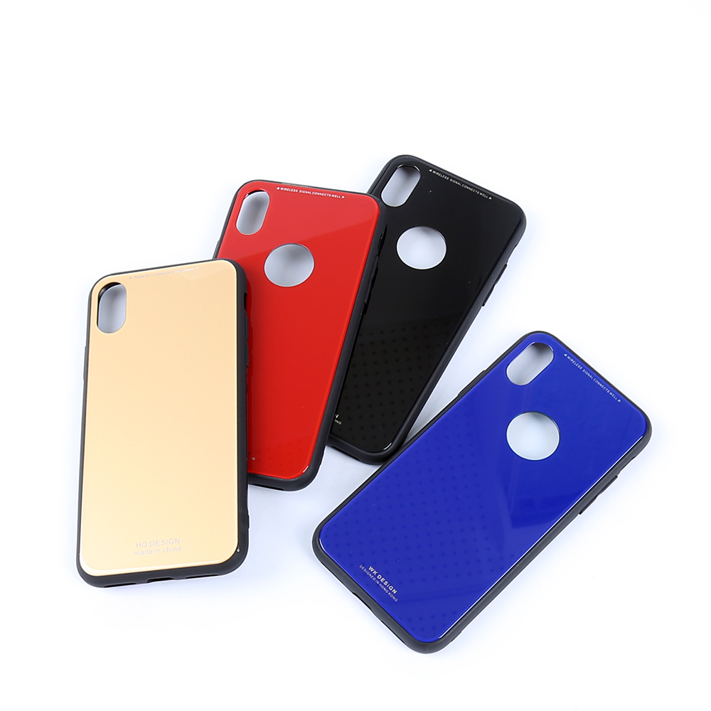 New design colorful tempered glass case phone cover anti shock case for vivo y71 cell phone case