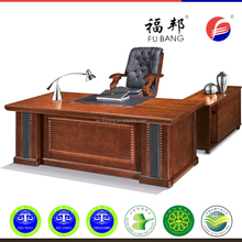 Wooden veneer office furniture classice executive L shaped office desk