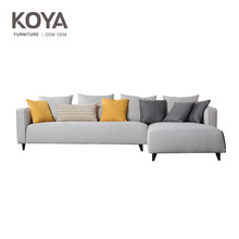 The Nordic New model furniture living room sofa set modern fabric sofa design