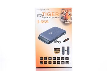 2016 Hot Sell Tiger I555 FTA Digital Satelite Receiver