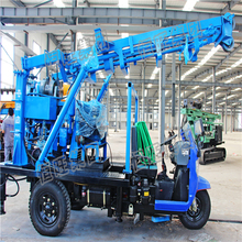400M Cheap Price Truck mounted rotary water well drilling rig