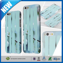 C&T Calamine blue knife wintersweet plastic case for iphone 6 in rubber coating
