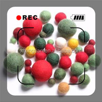 Colorful Wool Decoration Ball