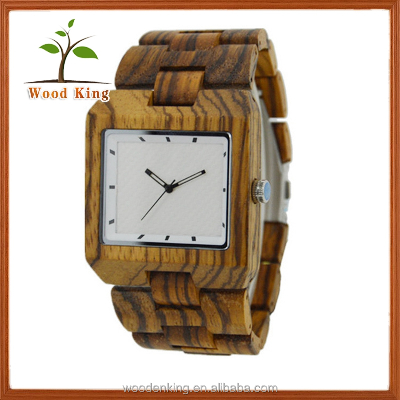 2017 Hot Oem Man Watch Wood Watch 10atm Water Resistant Watches
