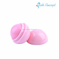 Moisturizing ball lip balm made in china for promotion