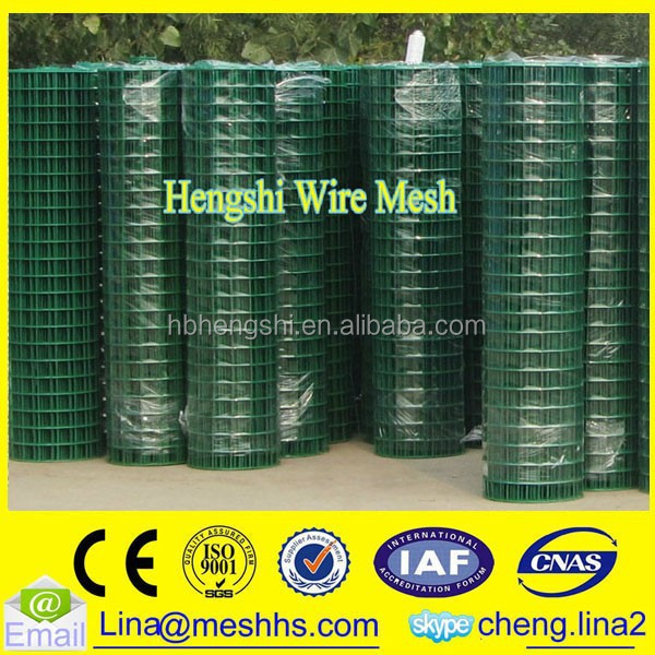 Best 1/2 Inch Plastic Coated Welded Wire Mesh