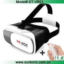 "Vr box 3d glasses for 3.5"" to 6.1"" Smartphone 3d Video Glasses and vr box for iphone and all android phones"