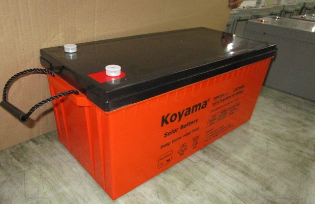Top selling long life 12V 150ah deep cycle Solar Battery