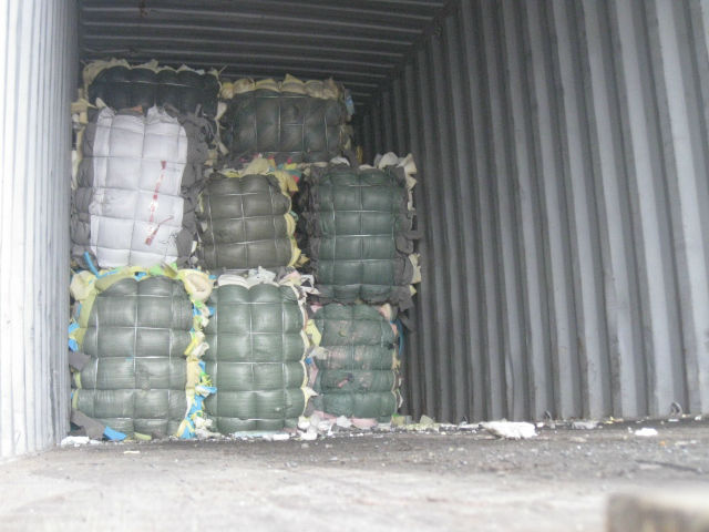 Rebond pu foam scrap in bales Good price