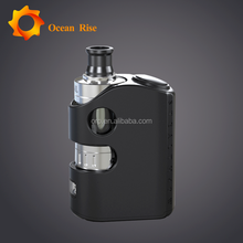 Instock 100% Original Tesla Stealth 40W TC 1300 mAh 8V 22mm Mod smoker friendly electronic cigarette second hand smoke