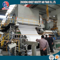 Automatic 1880mm Waste Paper Recycling Plant