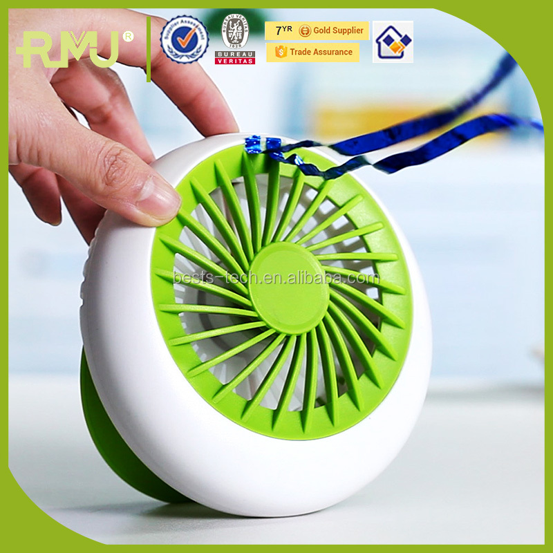 Mini USB fan 5v cooling fan 3 speed rechargeable fan