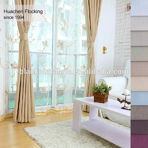 Wholesale Polyester Material Sunscreen fabric for roller blinds