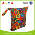 Alvababy Firework Pattern Waterproof Cloth Diaper Bag Wholesale Wet Bag