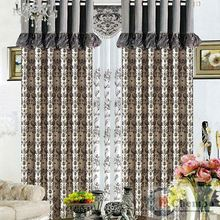 high grade german lace linen curtains for living room