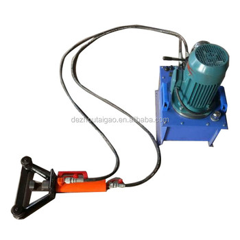 Easy operation Min Portable hydraulic steel rebar bending machine