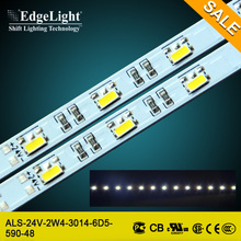 Edgelight shanghai factory advertising led strip light bar with high quality reasonable price