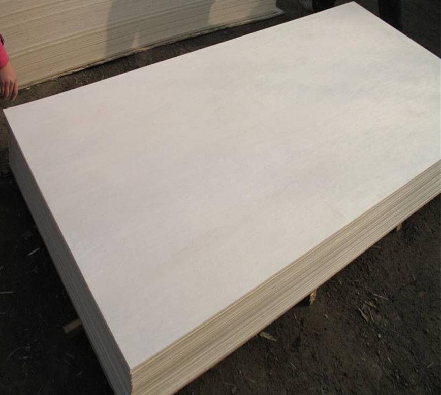 18mm white color maple plywood prices , furniture grade playwood sheets