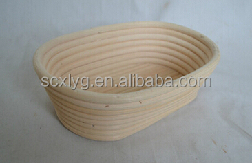 Bread Bowl and Rattan Bread Proofing Basket