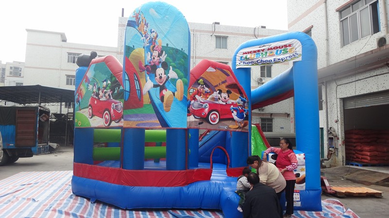 mickey minnie mouse inflatable toy for kids/mickey mouse bounce house/inflatable bounce