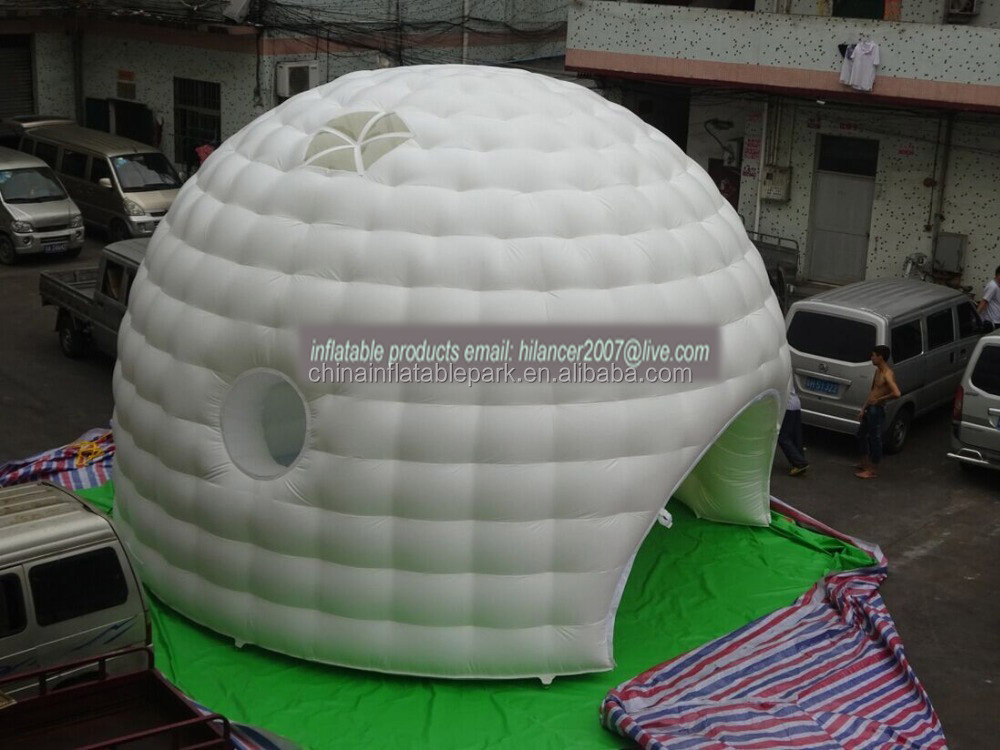 outdoor inflatable spider dome tent for party evnet using