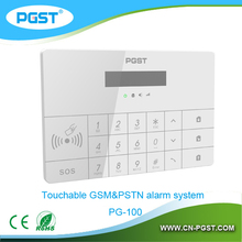 gsm home automation security alarm system with sms device PG-100