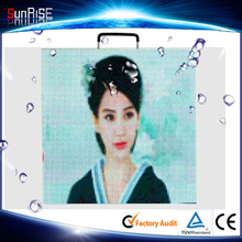 full color HD giant screen outdoor Waterproof Full Color SMD LED moving message display p4.81 LED module