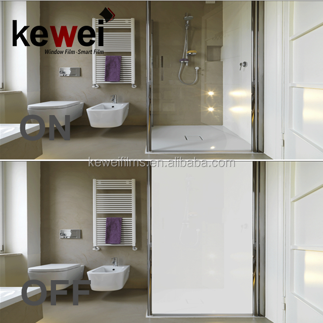 Switchable privacy glass,electric privacy glass for hotel, laminated by non-adhesive smart film