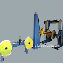 Automatic cable rewind robot arm machine for cables