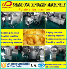 Excellent quality hot selling small potato chips machine factory