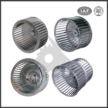 stainless steel aluminum turbo centrifugal fans blowers impeller
