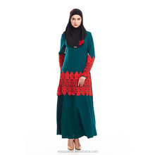 wholesale in stock supply beauty malayasia long dress muslim dress jilbab dress for muslim