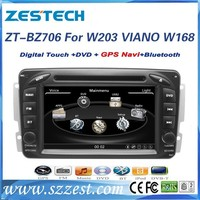ZESTECH Factory OEM 7 inch 2 din car dvd for Mercedes benz w203 C Class 2000 2001 2002 2003 2004 2005