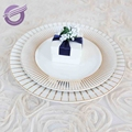 PZ21020 Wholesale event dining white ceramic dinner plates set