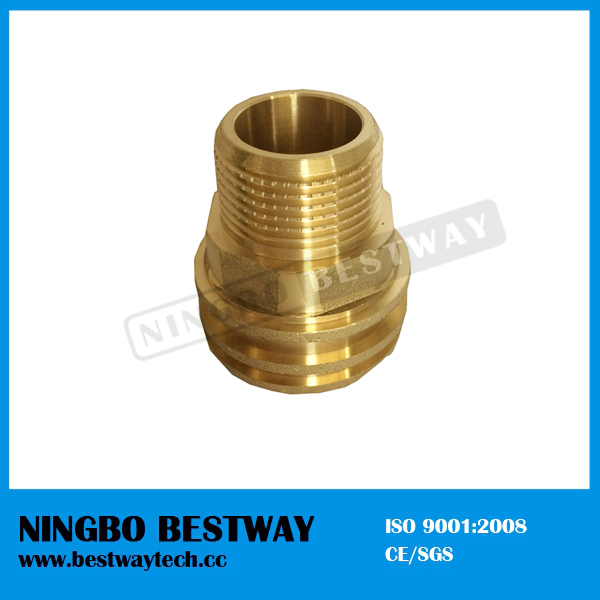 CNC Machine Hexagonal Male PPR Insert Fittings
