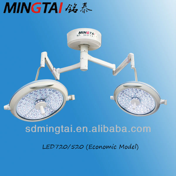 Two-Arm Shadowless Operating Lights Use Medical Equipmen