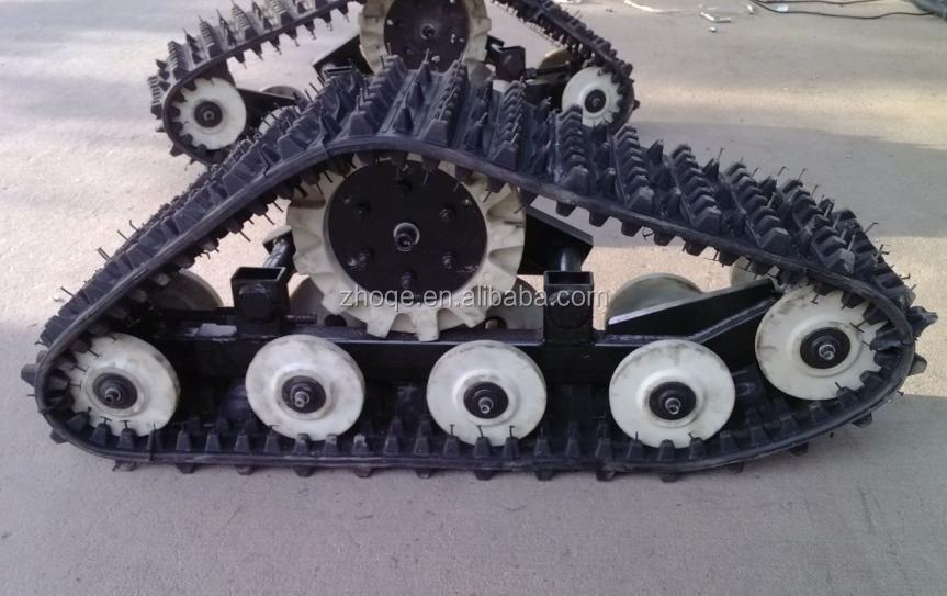 Tractor Track System : Tractor suv pickup rubber track conversion system atv utv