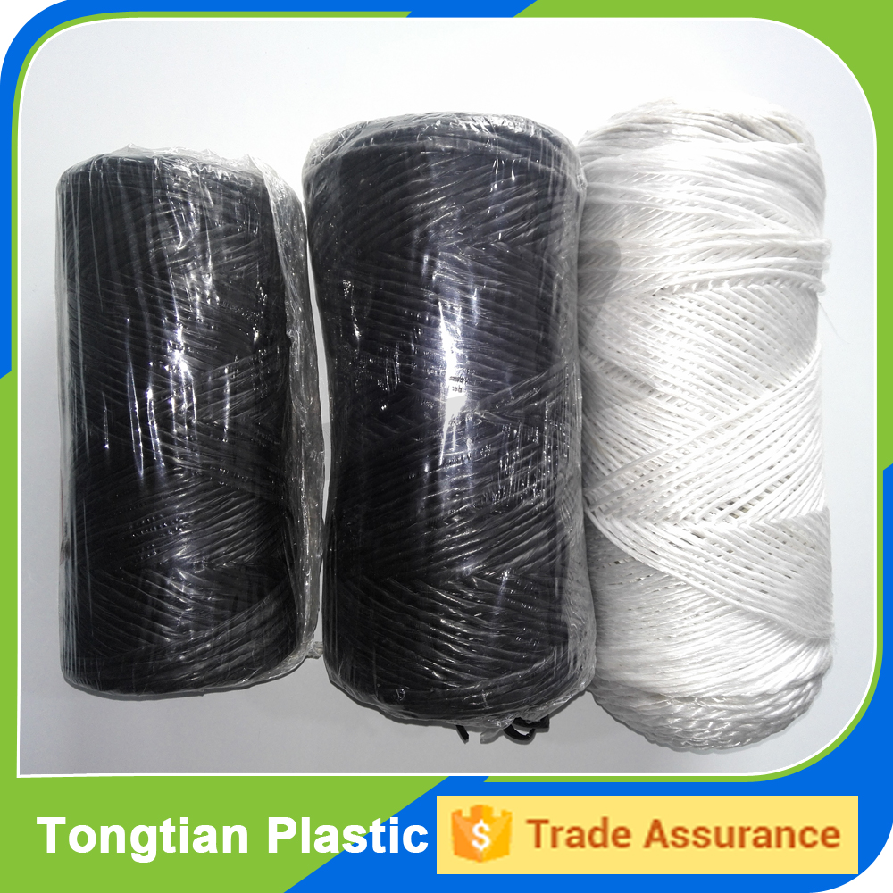 3 ply splitfilm PP baler twine rope for agriculture packing use