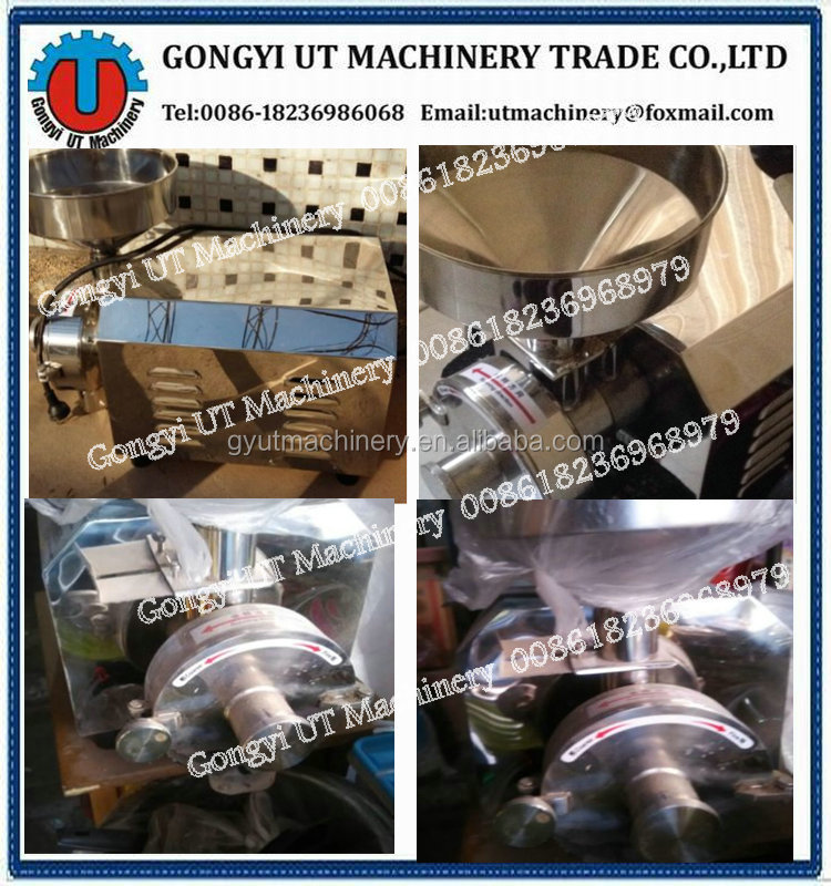 Home Use Wheat Flour Mill/ Dry and wet grain grinder/ Mini Flour Mill