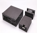 Low price stamping progressive die for metal box , network disk, and customized products