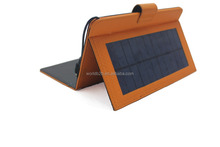 New innovation rechargeable universal solar leather keyboard cover for ipad