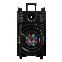 Hot Selling Super Bass Trolley Outdoor PA System Mobile Trolley Outdoor Speaker with wireless Microphone F10-21