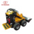 China HYSOON HY380 compact backhoe loader