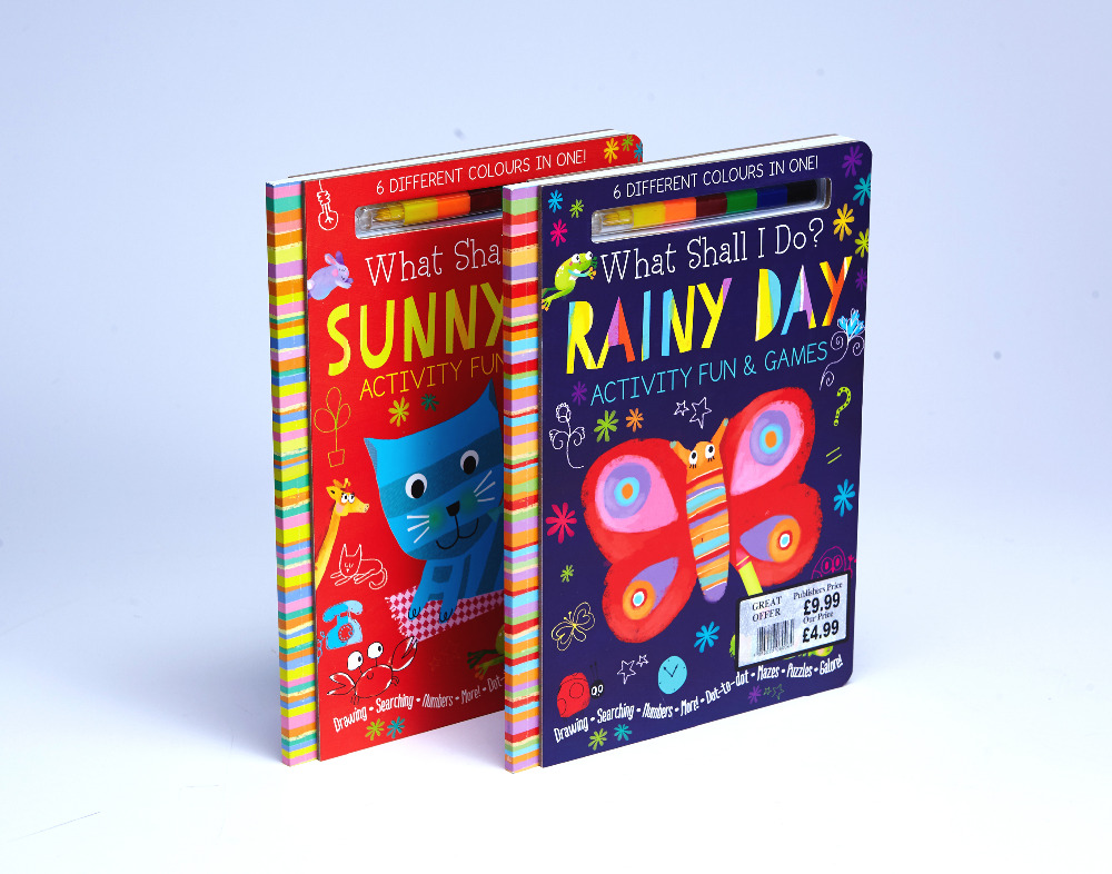 New design interesting children hot sale story book with custom services printing company