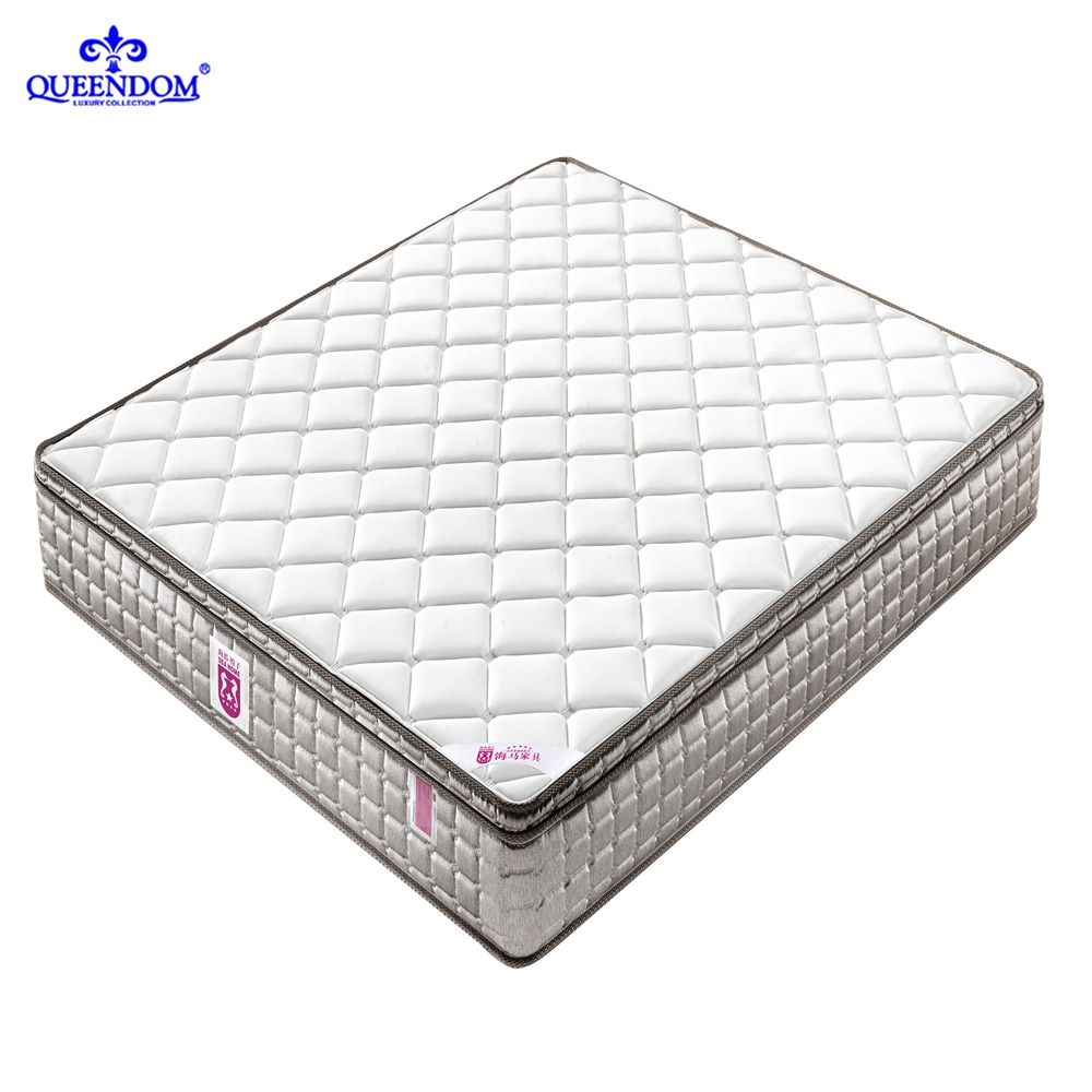 New design cooling 2 inches gel side dual waterbed soft fabric spring memory foam mattress - Jozy Mattress | Jozy.net