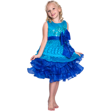 Flower Girl Dress Lace Wedding Princess Birthday Party Tutu Dress Party Chiffon Dresses