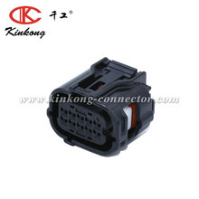 KINKONG Black female waterproof auto electrical 10 pin connector for Sumitomo 6189-1134